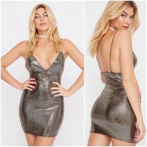 Dresses & Skirts - Silver Sequins dress - medium (new with tags)